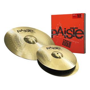 Paiste 101 Brass 13/18 Essential Cymbal Set