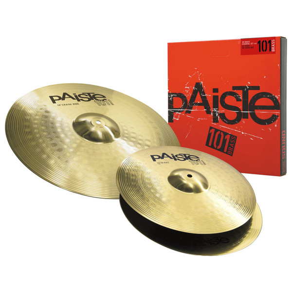 Paiste 101 Brass 14/18 Essential Cymbal Pack