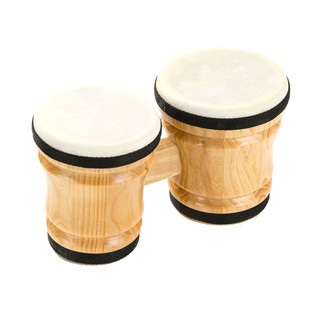 Percussion Plus PP311 Wooden Bongos, 12cm + 14cm
