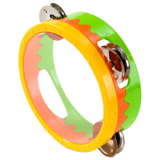 Percussion Plus PP367 Early Years Tambourine, 14cm