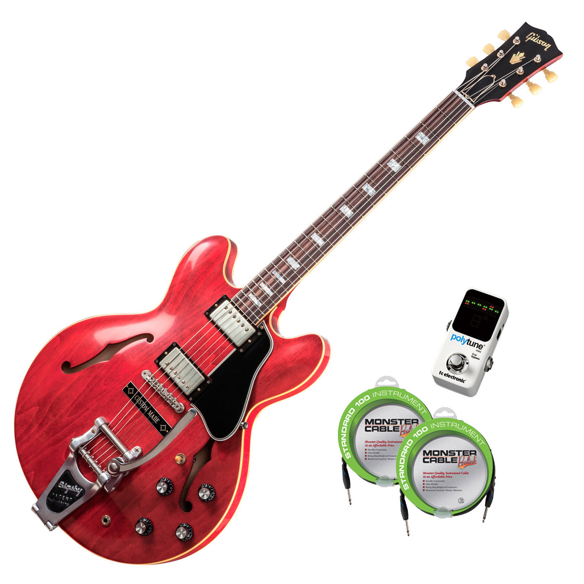 disc gibson rich robinson es 335 guitar cherry vos at gear4music. Black Bedroom Furniture Sets. Home Design Ideas