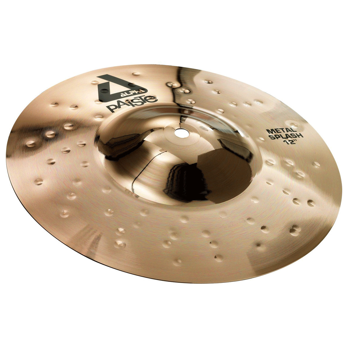 paiste alpha 12 39 39 metal splash cymbal brilliant finish at gear4music. Black Bedroom Furniture Sets. Home Design Ideas