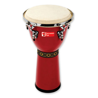 Percussion Plus PP450 Djembe, Red