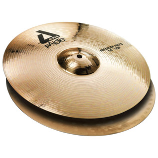 Paiste Alpha 14'' Medium Hi-Hat Cymbals, Brilliant Finish