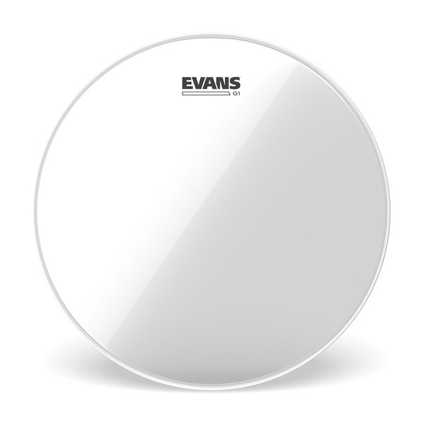 EVANS Genera G1 Clear Drum Head, 12""