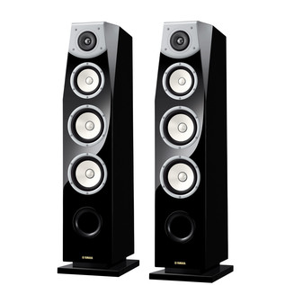 Yamaha NS-F901 Soavo Floor Standing Speakers, Piano Black