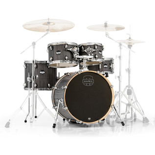 Mapex Mars 20'' Fusion 5 Piece Shell Pack, Smokewood